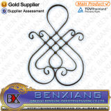 Iron modellato Scroll Bending Panels per Metal Gate