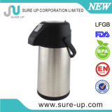 Nouveau thermos de Design Lever Air Pot Doubel Wall Stainless Steel Insulated Vacuum Flask avec LFGB (ASUG)