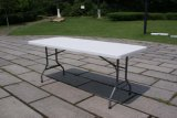 6ft 72inch Plastic Outdoor Folding Table Modern Style Oblong 정원 Table From 중국 Manufacturer