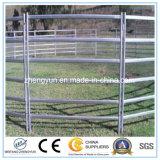 Hochleistungsvieh-Schienen-Zaun-verwendete Pferden-Zaun-Panels im Bauernhof