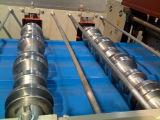 Mattonelle di tetto d'acciaio colorate che fanno macchinario