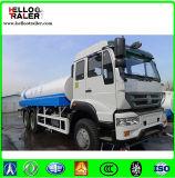2017년 Sinotruk HOWO 6*4 물 저장 탱크 트럭 트레일러 20000L 물 스프레이어 트럭