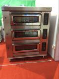 Matériel électrique de boulangerie de four de paquet de traitement au four pour faire l'usine Price/Ce de pizza