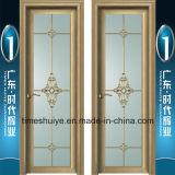 異なったデザインのアルミニウム内部の洗面所のドア