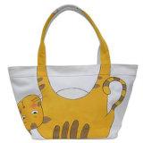 Geschenk-nichtgewebte Einkaufstasche-Baumwollsegeltuch-Griff-PapierEinkaufstasche (X016)