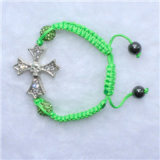 New Design Christian Picture Rozenkrans Armband Groothandel (IO-CB062)