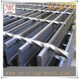Acero de barra cerrado galvanizado Caliente-Sumergido que ralla para la plataforma