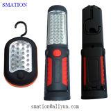 휴대용 차고 조정가능한 고성능 유연한 12V LED 작업대 램프 LED Worklamps