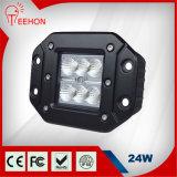 Nueva luz del CREE LED del diseño 24W con Ce/FCC/RoHS/IP68