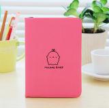 Cahier mignon de planificateur d'agenda de tourillon de lapin de Molang de dessin animé