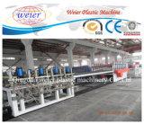 Linea di produzione di legno dello strato della scheda della gomma piuma della crosta del PVC della plastica WPC