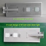 Integrou tudo em uma luz de rua solar do diodo emissor de luz com preço de fábrica