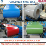 Geknitterter farbiger galvanisierter Stahlring PPGI