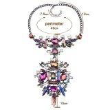 Ожерелье Chocker диаманта ожерелья цепи одежды способа кристаллический