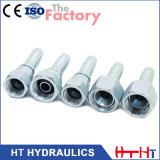 Ajustage de précision hydraulique de tuyau de joint plat femelle métrique (20211 20211-T)
