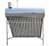 Calentador de agua caliente solar del acero inoxidable, géiser solar de agua del sistema de energía solar solar del tanque