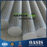 5mm Slot en acier inoxydable 316L V Wire Wedge Wire Screens