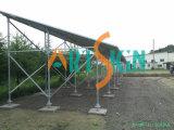 Estacionamiento Sistema-Solar del montaje solar