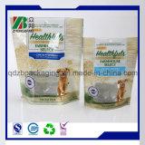 Plastikaluminiumfolie-Verpacken der Lebensmittel mit Reißverschluss für das Haustier-Hundeverpacken der Lebensmittel