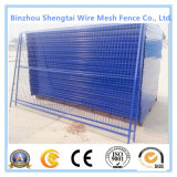 Rete fissa d'acciaio rivestita facilmente montata della maglia del nastro metallico del PVC
