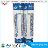 Matériau imperméable à l'eau composé de pp /PE d'usine, membrane de imperméabilisation de polypropylène de polyéthylène d'approvisionnement de constructeur