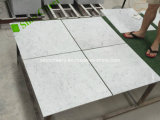 De witte Marmeren Tegels van het Mozaïek voor de Tegels van de Vloer, Mozaïek van Carrara van de Hal het Witte Marmeren voor Muur