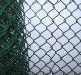 Da cerca revestida da ligação Chain do vinil preto cerco/ligação Chain