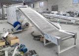 Grosse sich hin- und herbewegende Fisch-Zufuhr, die Maschine herstellt