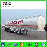 China 3axle 45000 Van de Diesel van de Stookolie van het Koolstofstaal Liter Aanhangwagen van de Tanker Semi