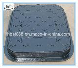 Couvertures de trou d'homme faites sur commande de bâti de couverture de trou d'homme de fer de moulage de la Chine En124 B125
