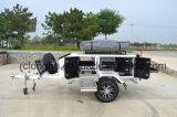 4X4 миниое с трейлера туриста дороги