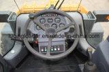 Caricatore della rotella di controllo del pilota del caricamento Rated da 5 tonnellate con il condizionatore d'aria