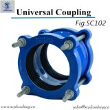 Cast Ductile Iron Universal Coupling para PVC Di Pipe do Gsp HDPE