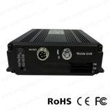 4CH Ahd 720p小型二重SDのカード移動式DVR
