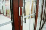 Portas de dobradura americanas da entrada do estilo (WJ-Alu-SD0001)
