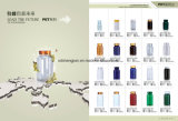 Großhandelsflaschen-Vitamin-/Kapsel-Verpacken des haustier-150ml Plastik