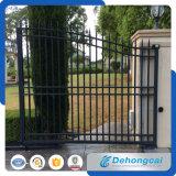 Puerta residencial práctica económica clásica del hierro labrado (dhgate-29)