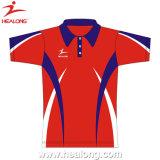 Sublimation-Polo-T-Shirts für Mann-Sport-Kleidung