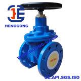 비 DIN 플랜지 상승 줄기 연성이 있는 철 또는 연성이 있는 철 게이트 밸브