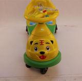Carro do balanço do bebê de China bom com o carro plástico da torção do espaldar da música para a venda