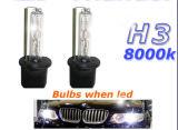luminoso eccellente della lampadina del xeno NASCOSTO H3 di 12V/24V 35With50W per il faro dell'automobile