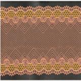 Merletto elastico lavorato a maglia tinto di alta qualità per il reggiseno