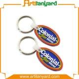Kundenspezifisches weiches Gummi Kurbelgehäuse-Belüftung Keychain
