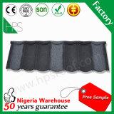 Tipo schiavo mattonelle del Kenia di tetto rivestite del metallo della pietra di prezzi di fabbrica