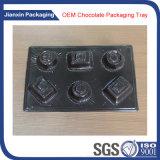 Bandeja plástica modificada para requisitos particulares para el empaquetado del chocolate