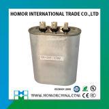 Exportando os capacitores 56UF+/-5%UF ovais de alumínio do funcionamento Cbb65 do começo