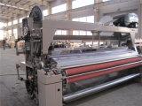 Maquineta de tecelagem da tela da fibra de China Qingdao que verte a máquina do tear do jato de água