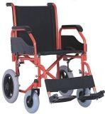 يطوي/مسحوق طلية فولاذ/منافس من الوزن الخفيف كرسيّ ذو عجلات