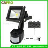 옥외 방수 무선 20W PIR 운동 측정기 LED 투광램프