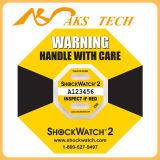 Горячий удар Idicator снабжения Shockwatch сбывания